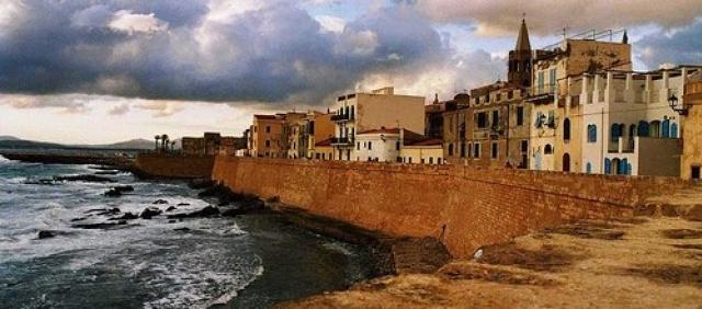 Alghero Sardinia Old Town