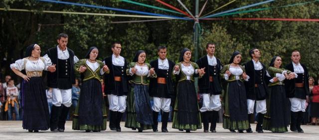 Sardinian Folk Group in Ogliastra