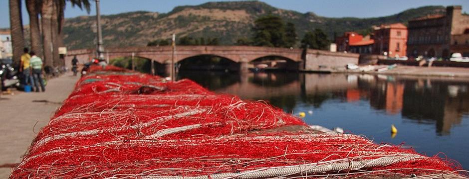 Fishing Nets Temo River Bosa
