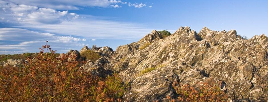 Sardinian Mountains in Autumn
