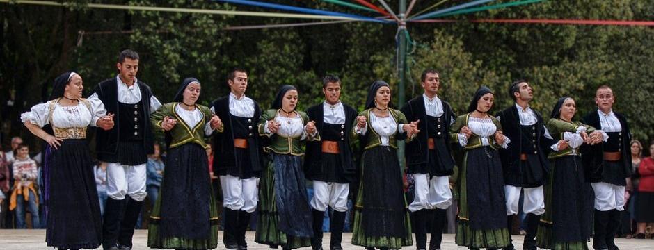 Sardinian Folk Group Perdasdefogu Ogliastra